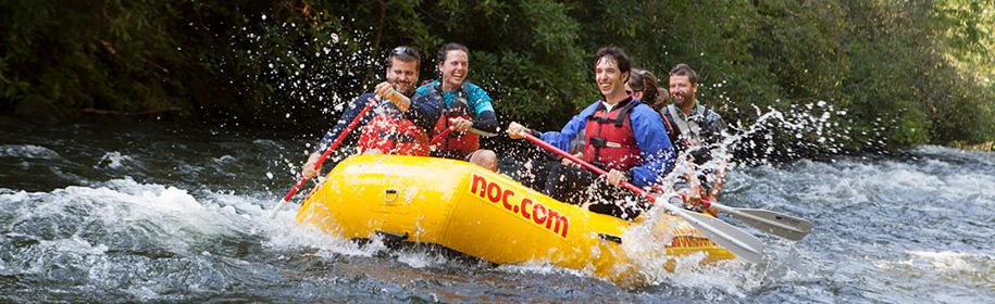 Group Rafting Guide
