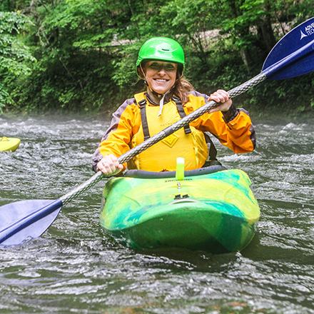 Whitewater Paddling Instruction Courses