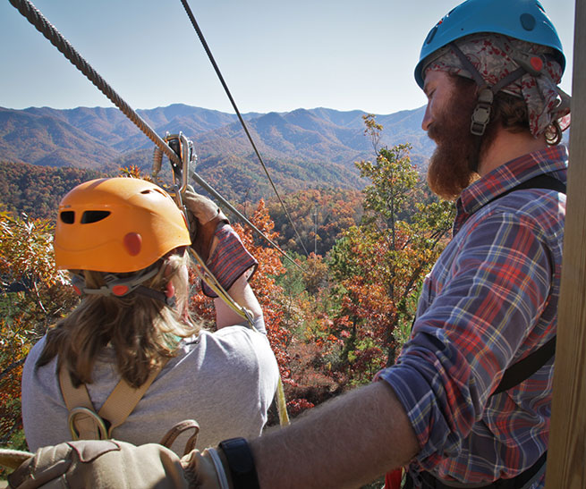 Fall Zip Line Tours